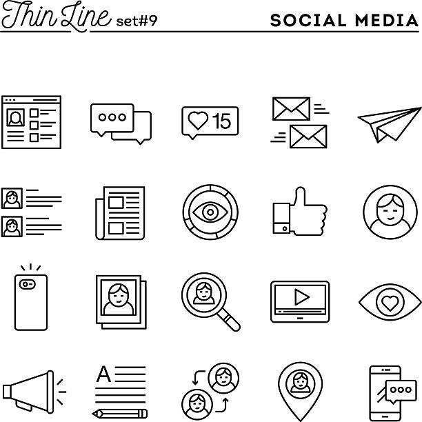 ilustrações de stock, clip art, desenhos animados e ícones de rede social, comunicação, perfil pessoal, publicação online e muito mais - video call
