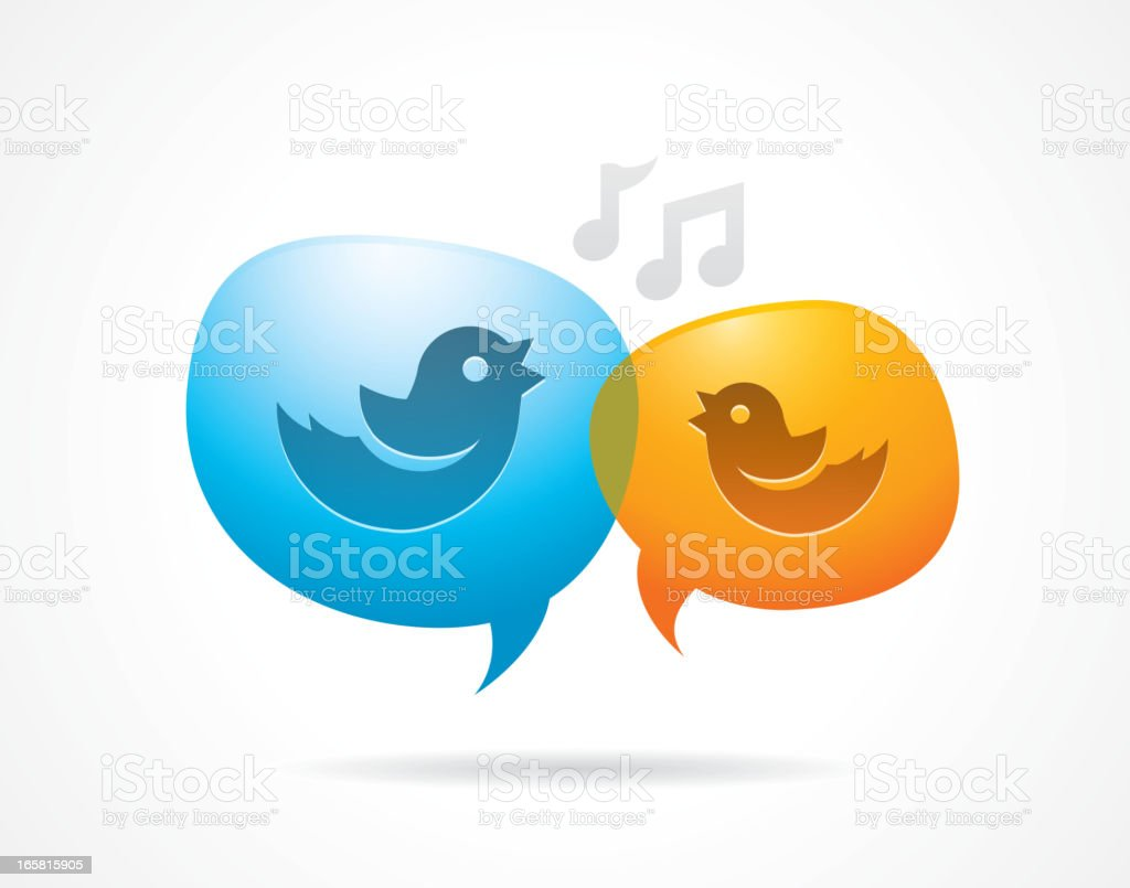 Social media discussion royalty-free social media discussion stock vector art & more images of bird