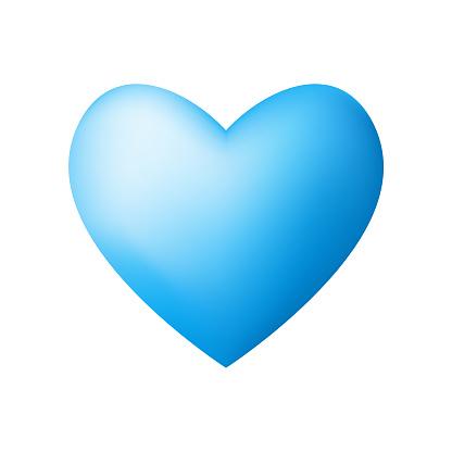 Social media heart shape