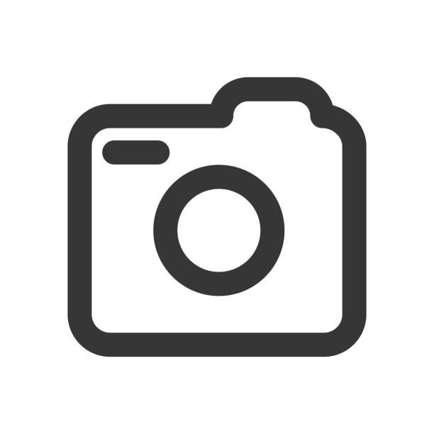 social media icon, photo camera instagram icons sign - stock vector - instagram stock illustrations
