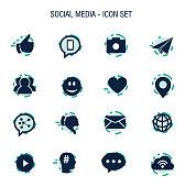 Vector of Social Media Icon Set