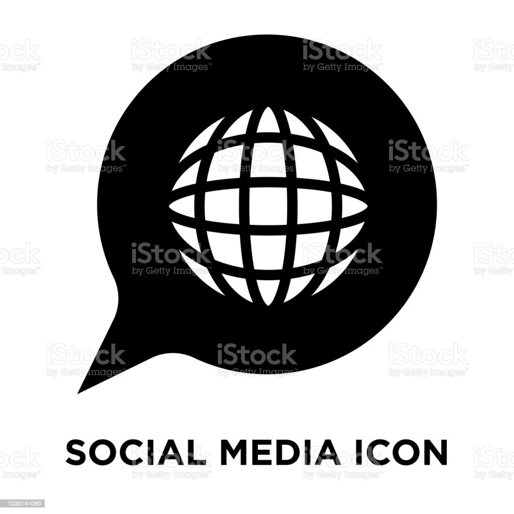 Social Media Icon Vector Isolated On White Background Logo Concept Of Sign