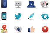 Social Media icons | Premium Matte series