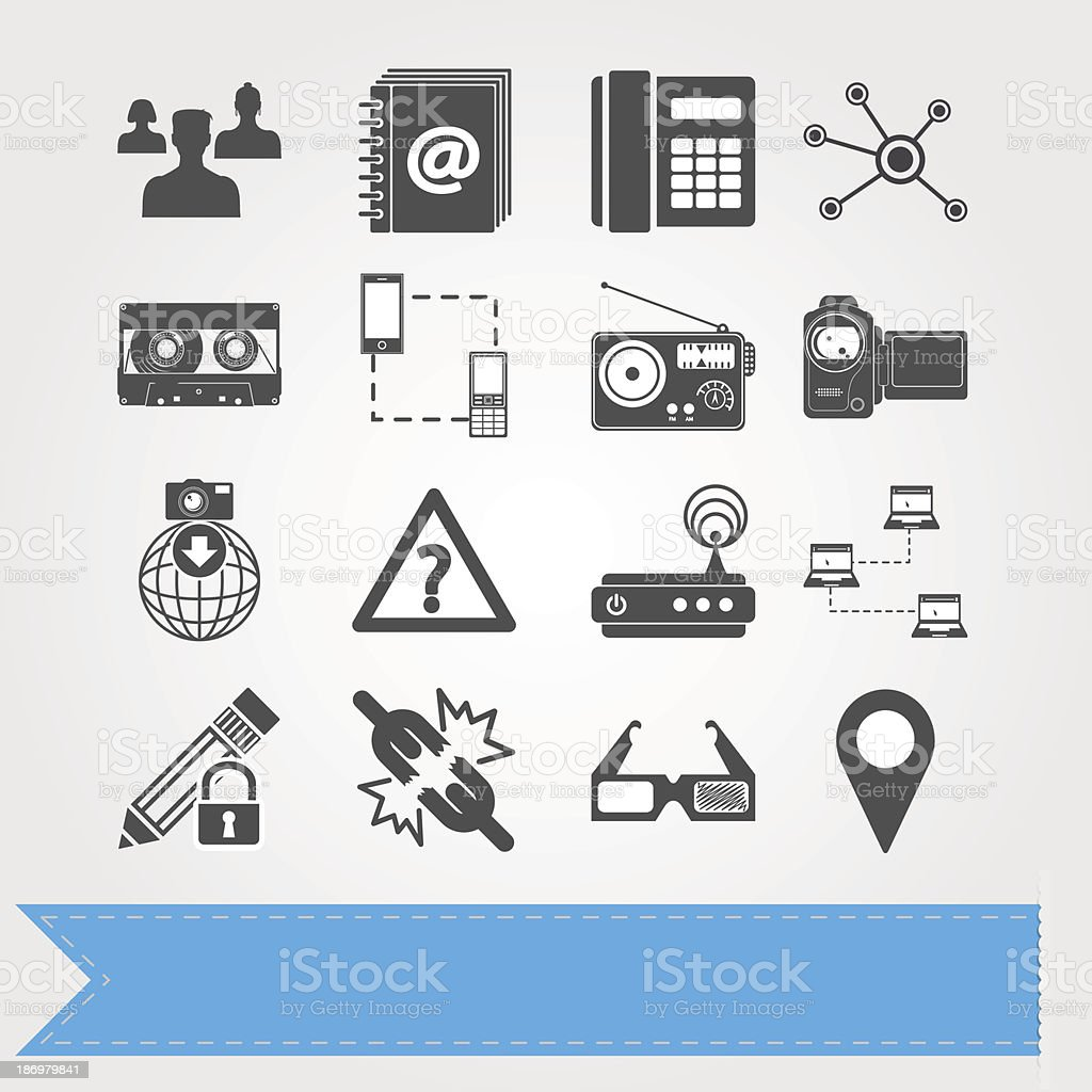 Social media icons set 6 royalty-free social media icons set 6 stock vector art & more images of 3-d glasses