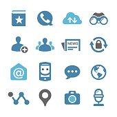 Social Media Icons Set - Conc Series