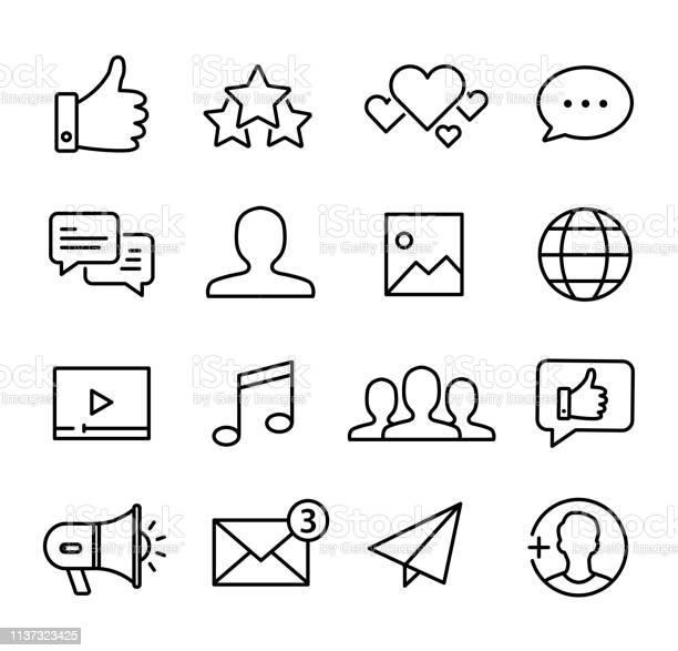 Social media icons set vector id1137323425?b=1&k=6&m=1137323425&s=612x612&h=izkhskrxsohr0vqzkumfvg5wvmnrtwo8jgylouqb xc=