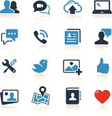 Social Media Icons Two Color | Pro Series