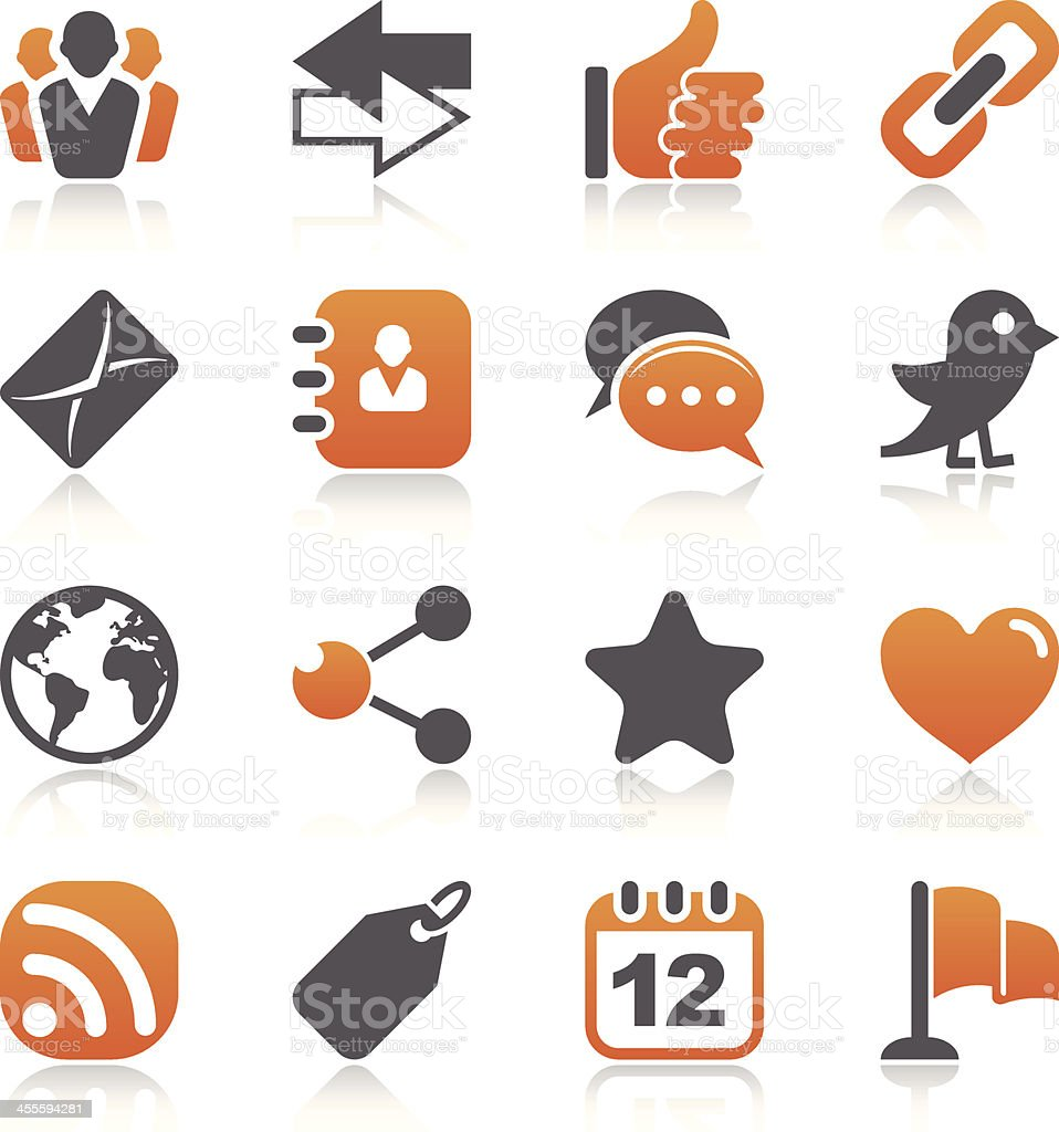 Social Media Icons royalty-free social media icons stock vector art & more images of address book