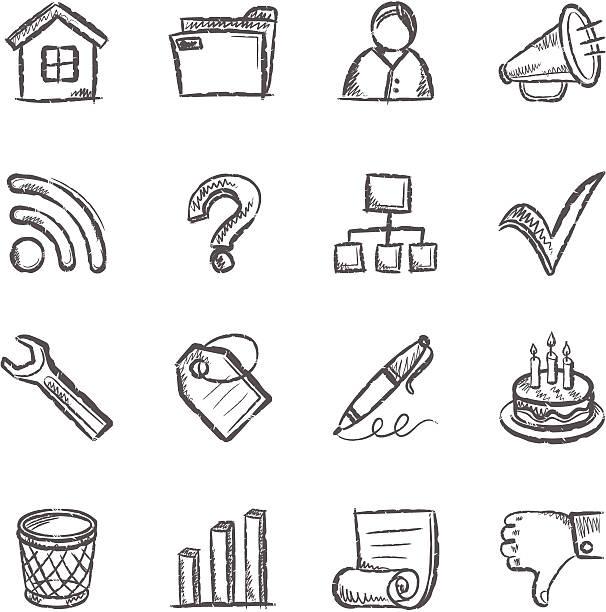 Social Media Iconset – Vektorgrafik