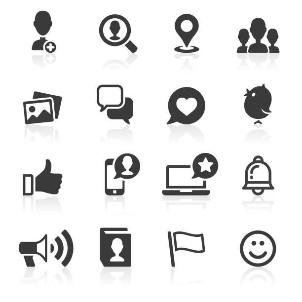 ilustrações, clipart, desenhos animados e ícones de mensagens &  ícones de mídia social. - consciência negra
