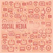 istock Social Media Pattern 1310881502
