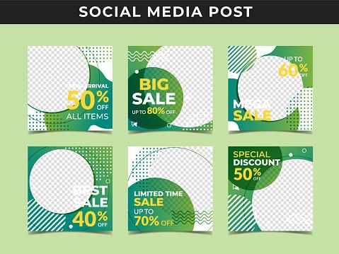 Social media post banner Vol.3