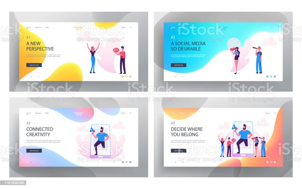 Social Media Relations, Blog, Website Landing Page Set, Smart...