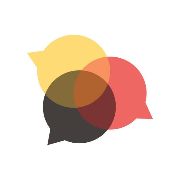 ilustraciones, imágenes clip art, dibujos animados e iconos de stock de burbujas de discurso de los medios de comunicación social - reunión evento social