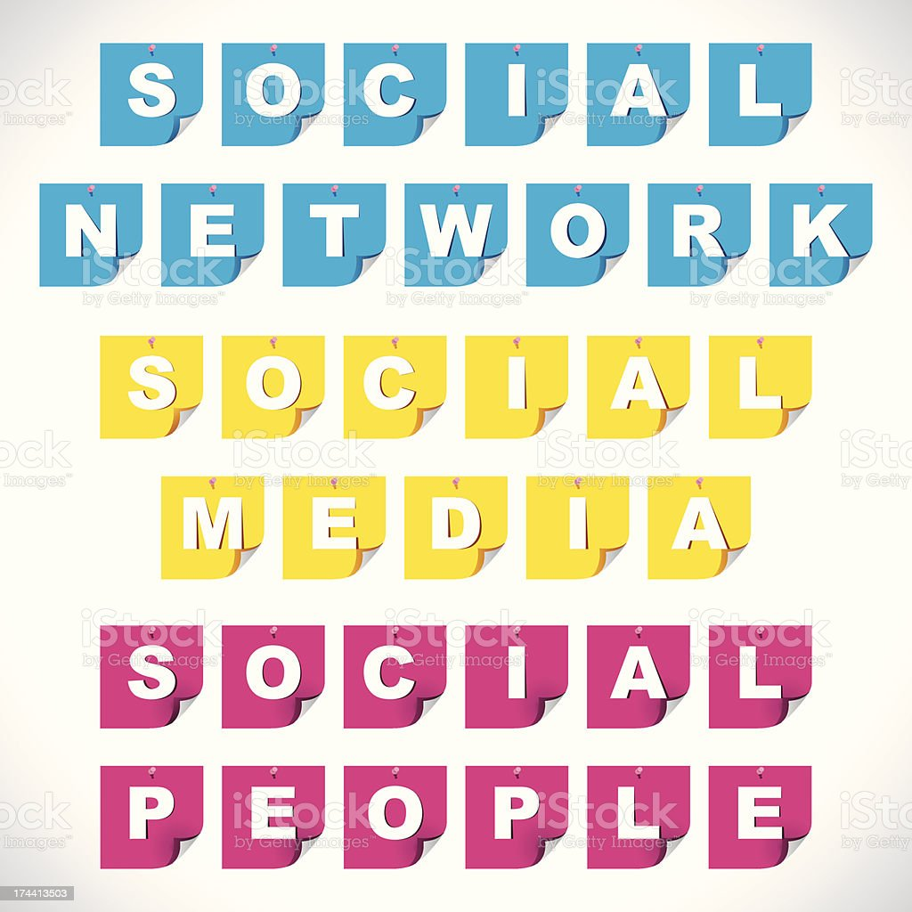 social media text royalty-free social media text stock vector art & more images of admiration