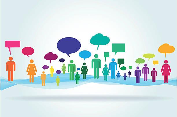 Social Media vector concept illustration vector art illustration