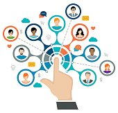 istock Social Network Concept 647766164