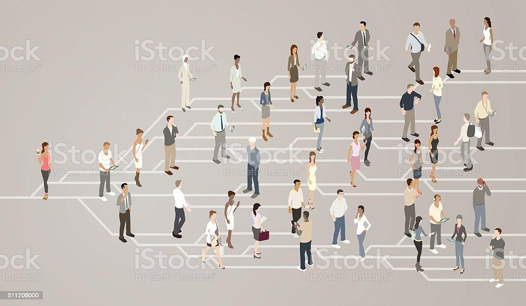 Social network illustration royalty-free social network illustration stock vector art & more images of blogging