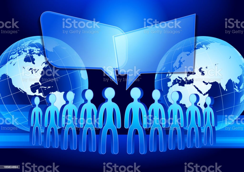 Social Network People royalty-free social network people stock vector art & more images of adult
