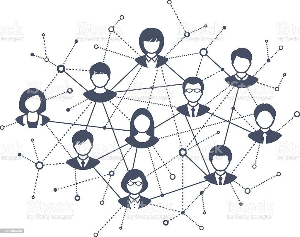 Stock Vector Alliesinteract 11211360: Social Network Stock Vector Art & More Images Of 2015