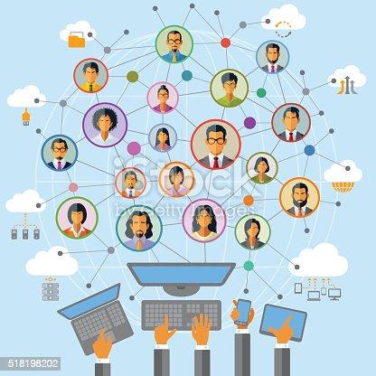 istock Social Network 518198202
