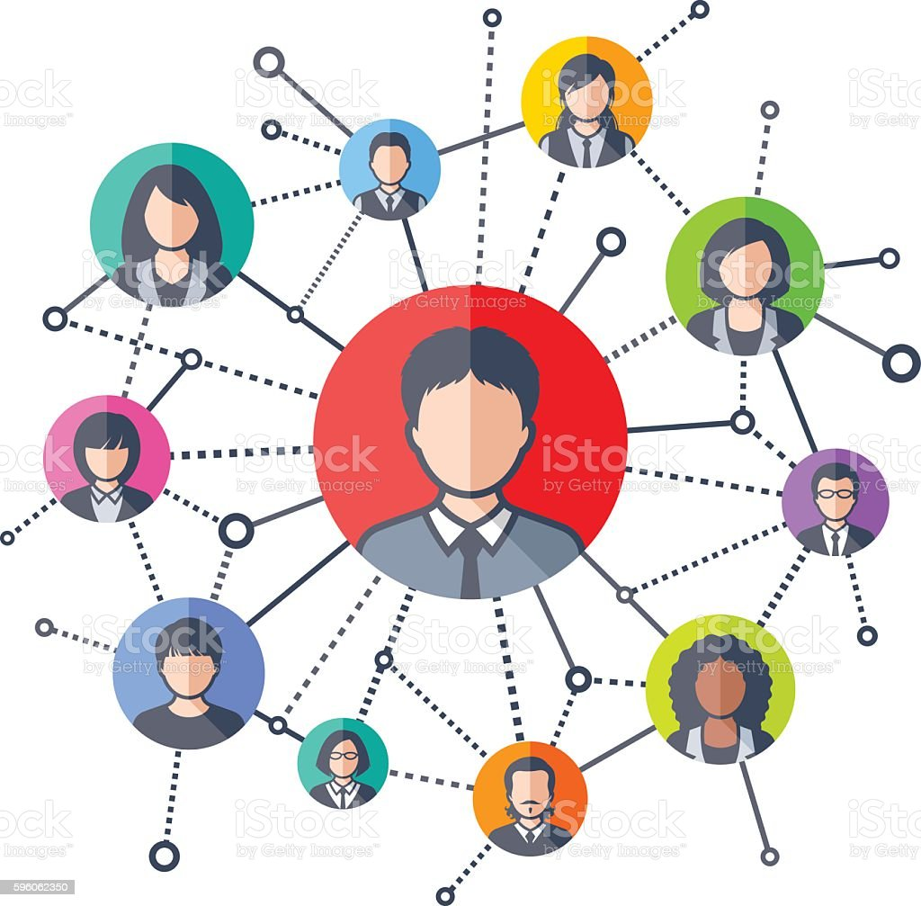 Social Network royalty-free social network stock vector art & more images of abstract