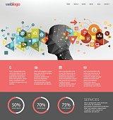 Social Network webdesign