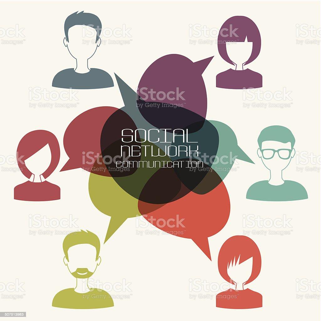Soziales Netzwerk für Erwachsene