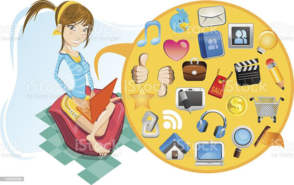 Social networking. royalty-free social networking stock vector art & more images of arranging