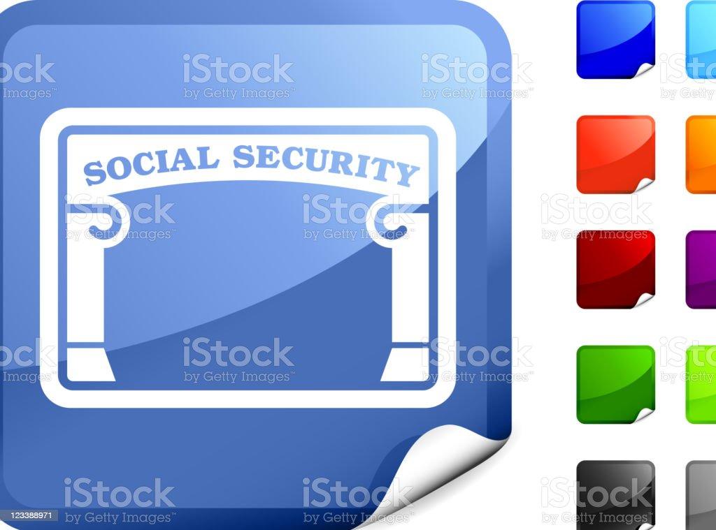 social security card internet royalty free vector art royalty-free stock vector art