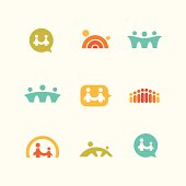 Social support icons