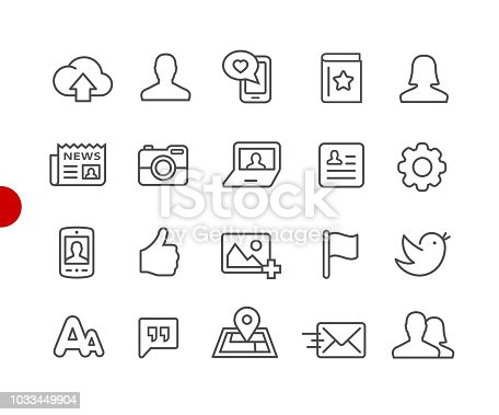Vector line icons for  your digital or print projects.