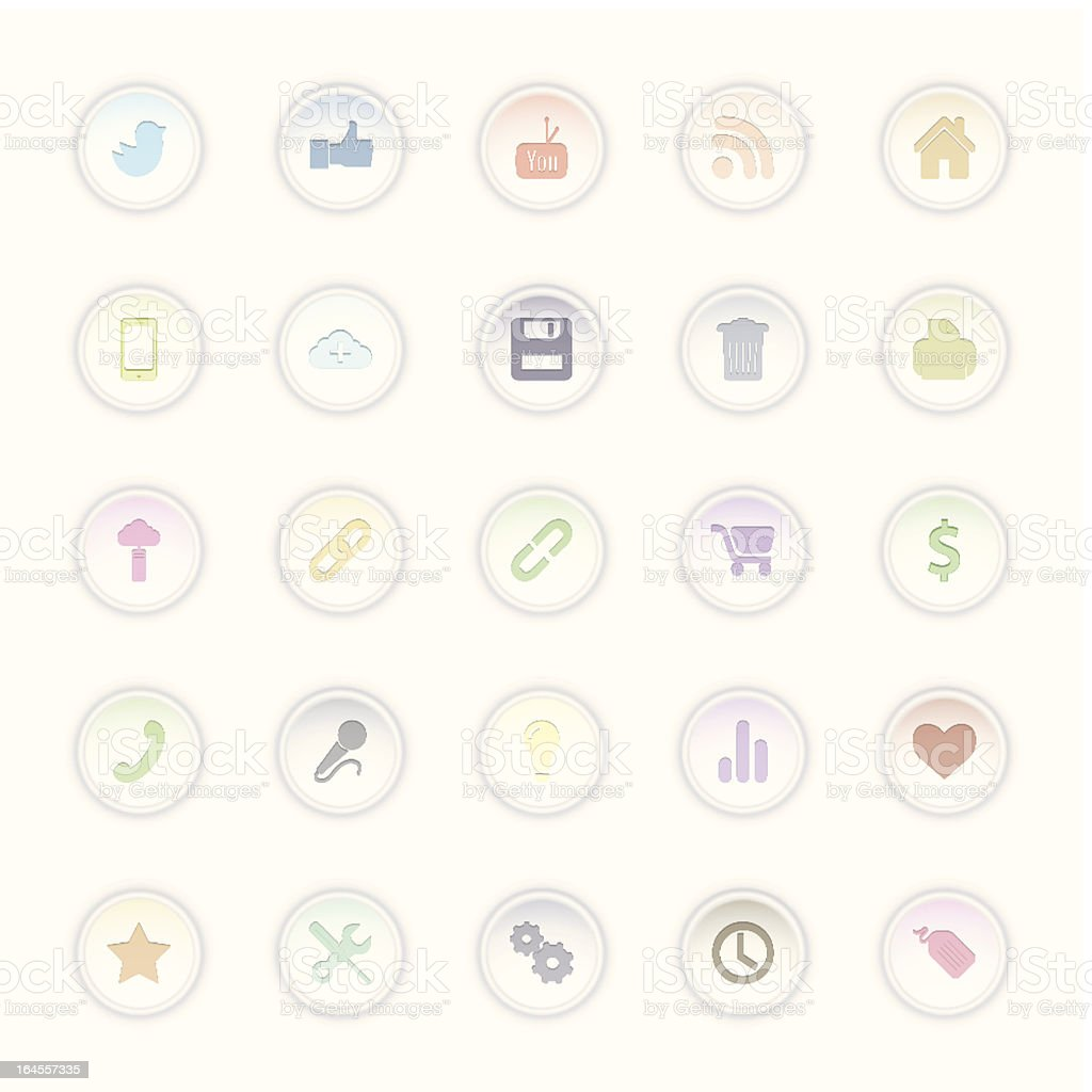 Social Web Icons royalty-free social web icons stock vector art & more images of avatar
