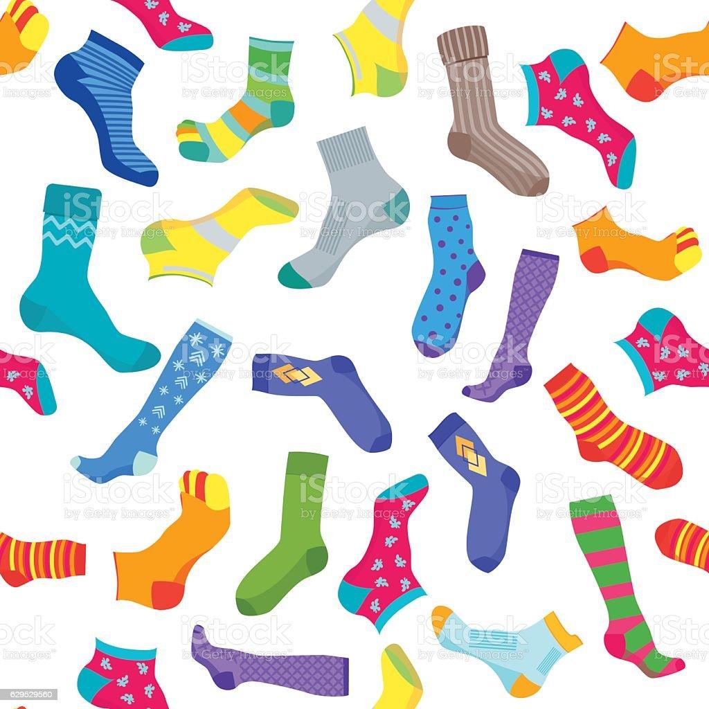Socks background pattern vector stock vector art more images of socks background pattern vector royalty free socks background pattern vector stock vector art amp voltagebd Gallery