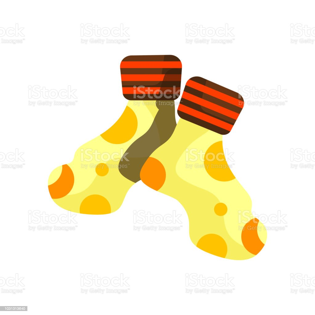 Socks icon vector isolated on white background, Socks sign , colorful symbols vector art illustration