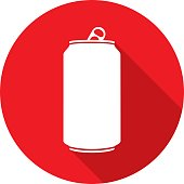 istock Soda Can Icon Silhouette 811689840