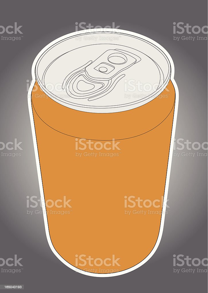 Soda Can royalty-free stock vector art