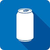 istock Soda Icon Silhouette 1198779026