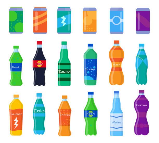 35 Cartoon Of A Soft Drink Bottles Illustrations Clip Art Istock