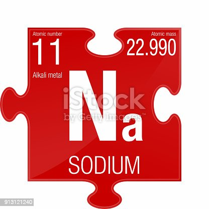 Sodium symbol element number 11 of the periodic table of the sodium symbol element number 11 of the periodic table of the elements chemistry stock vector art more images of atom 913121240 istock urtaz Image collections