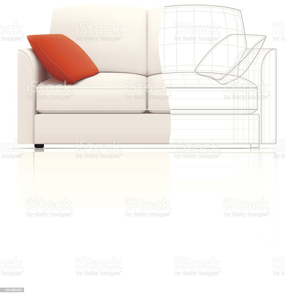 Sofa construction royalty-free sofa construction stock vector art & more images of cartoon