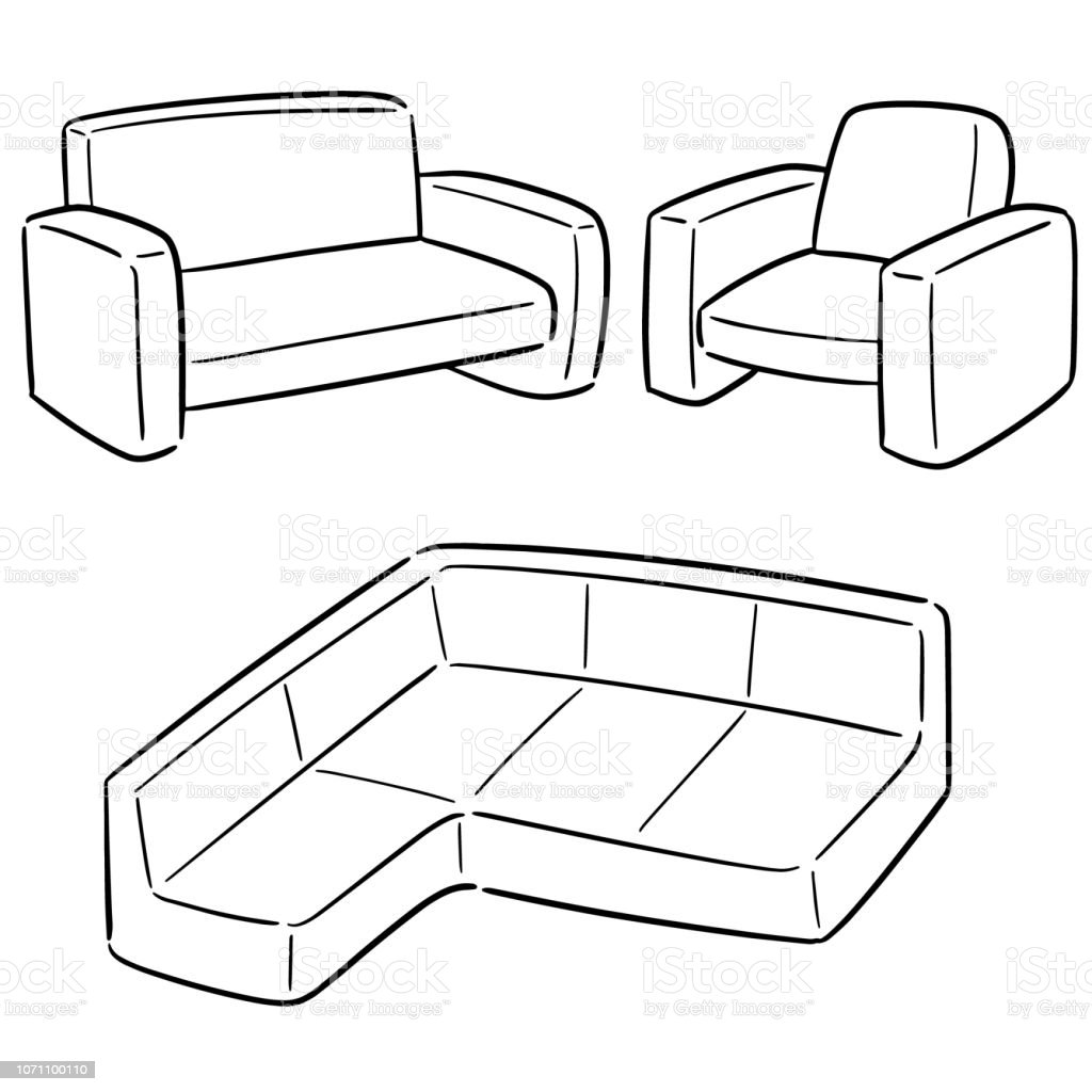 Top 60 Cartoon Of Leather Sofa Clip Art Vector Graphics And