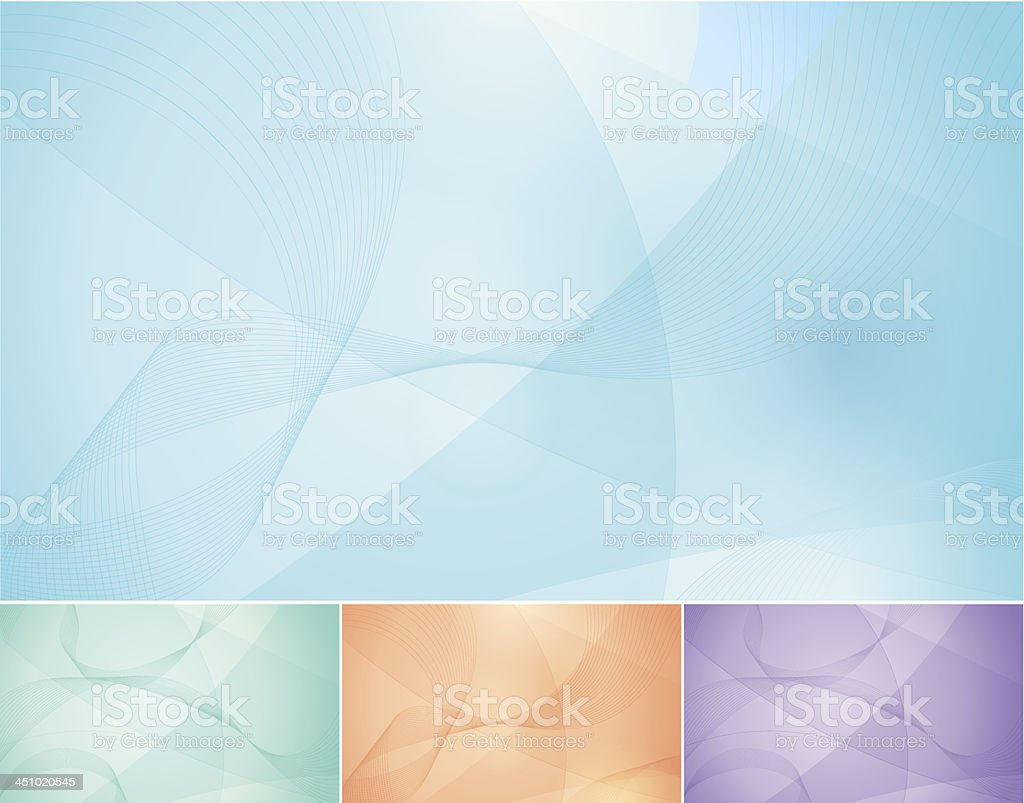 Soft Abstract Background royalty-free stock vector art