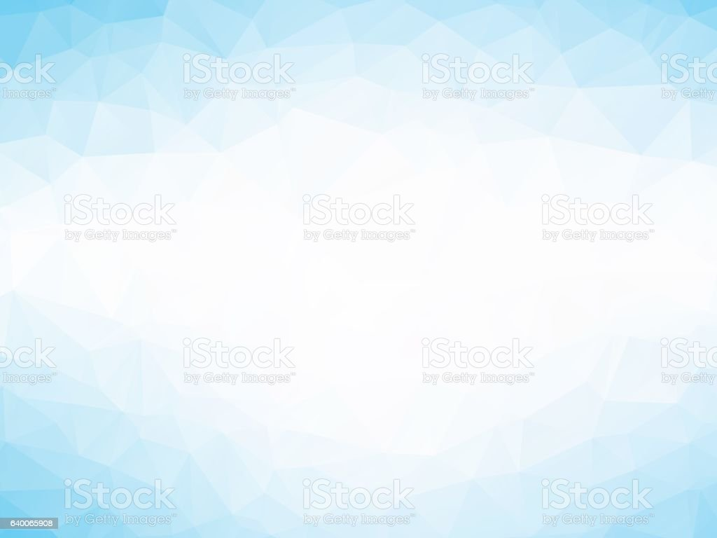 soft blue triangles background vector art illustration