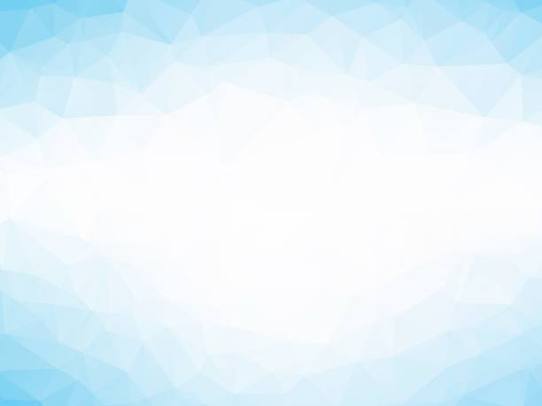 soft blue triangles background vector art illustration