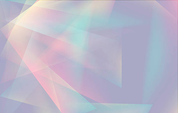soft colored abstract lowpoly background with copy-space - polygon background stock illustrations
