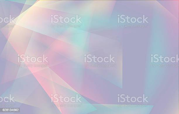 Vetores de Soft Colored Abstract Lowpoly Background With Copyspace e mais imagens de Abstrato