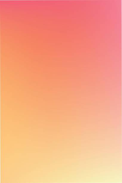 miękkie kolorowe tło gradientu.  ilustracja wektorowa - zachód słońca stock illustrations
