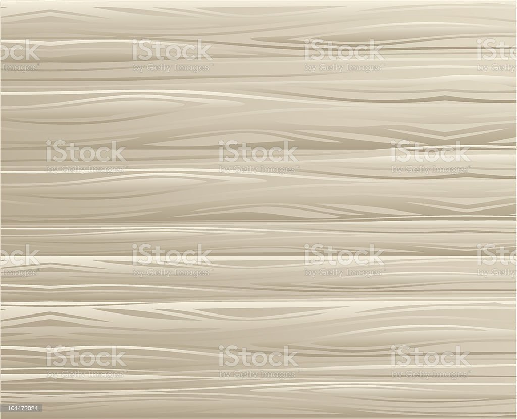 Soft colored wooden texture close-up vector art illustration