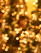 Soft Focus Bokeh Background. Holiday Lights.